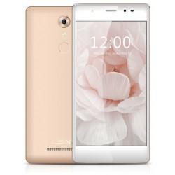 Téléphone Portable Leagoo T1 Plus / 4G / Double SIM / Champagne + SIM Offerte