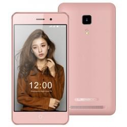Téléphone Portable Leagoo Z1C / 3G / Double SIM / Rose Gold + SIM Offerte