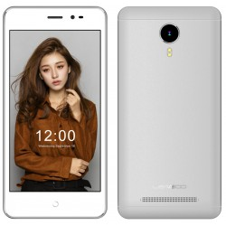 Téléphone Portable Leagoo Z5 LTE / 4G / Double SIM / Blanc + SIM Offerte