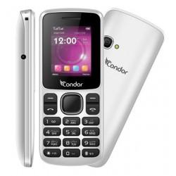 Téléphone Portable Condor F1 Mini / Double SIM / Blanc + SIM Offerte