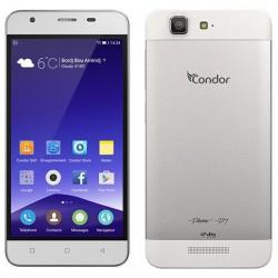 Téléphone Portable Condor Plume P7 / 4G / Double SIM / Gris + SIM Offerte