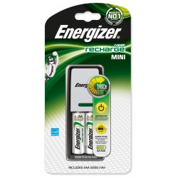 Chargeur Energizer Mini 2 piles AA 2000 mAh