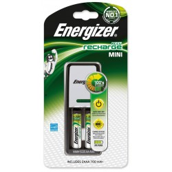 Chargeur Energizer Mini + 2 piles AA 700 mAh