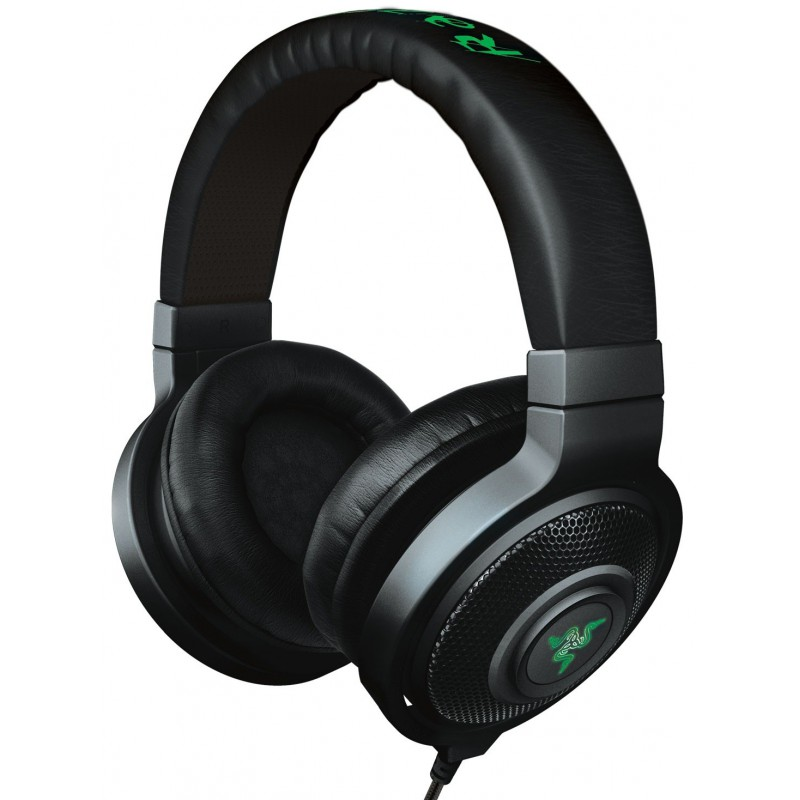 casque micro gaming razer kraken 7 1 chroma avec r tro clairage rvb. Black Bedroom Furniture Sets. Home Design Ideas