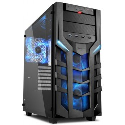 Boitier Gamer Sharkoon DG7000-G / LED Rouge