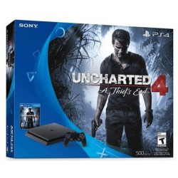 Console Playstation PS4 1 To + 1 Manettes + 1 Jeux Uncharted