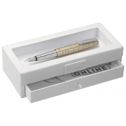 Stylo-plume Online Cristal Champagne