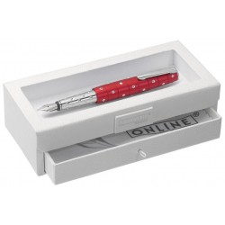 Stylo-plume Online Cristal Rouge