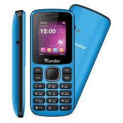 Téléphone Portable Condor F1 Mini / Double SIM / Bleu + SIM Offerte