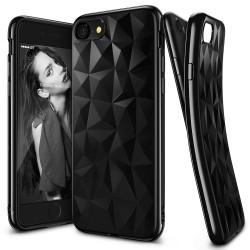 Etui en Silicone Ringke Air Prism pour Samsung Galaxy S8 / Noir Fumé