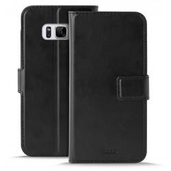 Etui Flip-cover Puro Booklet pour Samsung Galaxy S8 / Noir