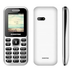 Téléphone Portable Evertek Sunny / Double SIM / Blanc
