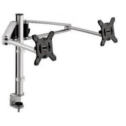 Support de bureau Novus MY Twin arm C avec pince système