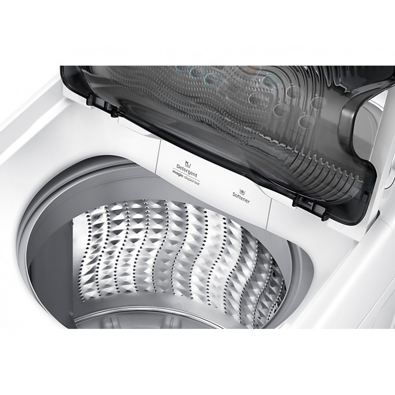 machine laver samsung dual wash 11kg blanc. Black Bedroom Furniture Sets. Home Design Ideas