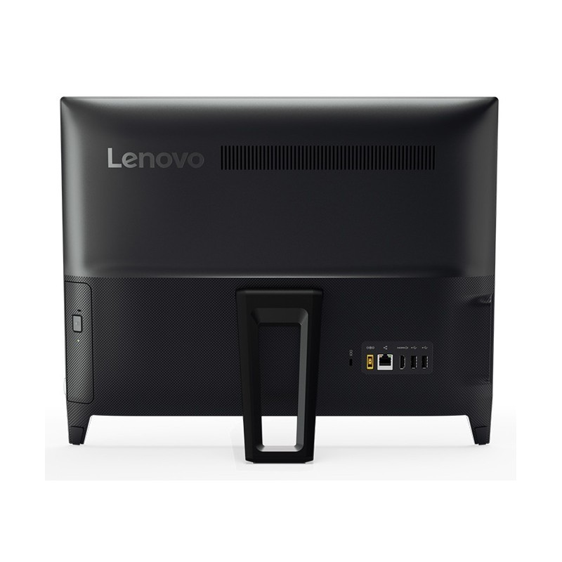 pc de bureau lenovo tout en un ideacentre 310 20iap quad core 4go noir. Black Bedroom Furniture Sets. Home Design Ideas
