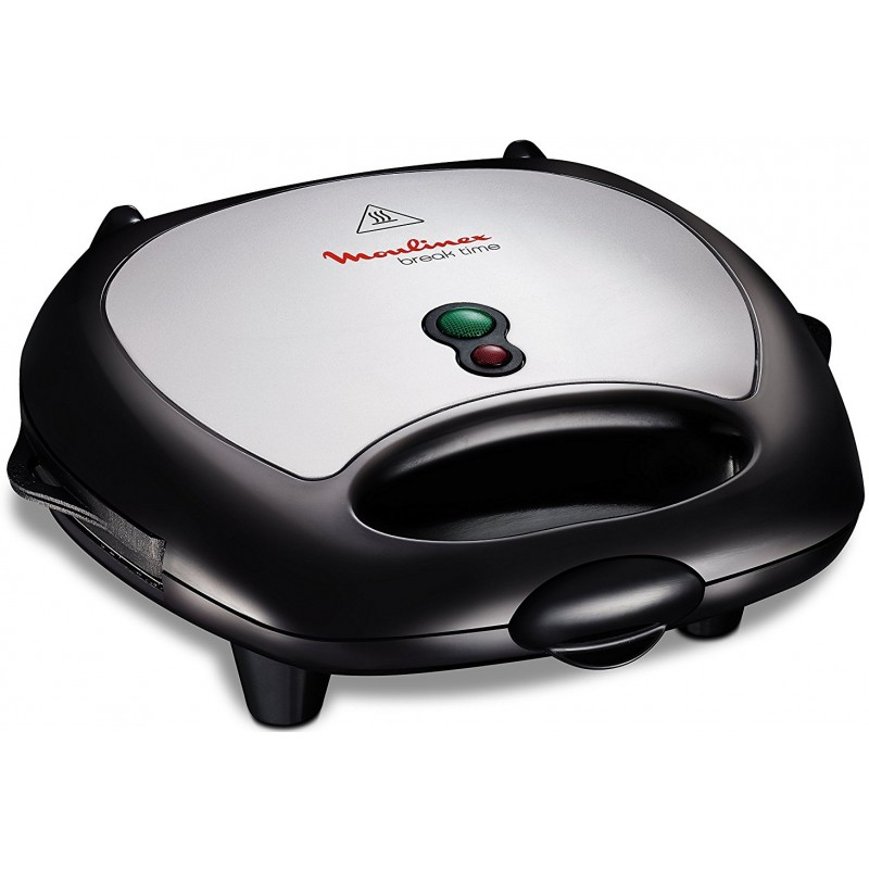 Moulinex break time 3 en 1 croque gaufre grill sw611812 for Appareil convivial