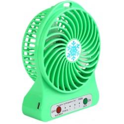ventilateur sans fil rechargeable portable vert. Black Bedroom Furniture Sets. Home Design Ideas