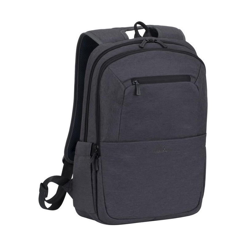 sac dos pour pc portable 15 6 rivacase 7760 noir. Black Bedroom Furniture Sets. Home Design Ideas