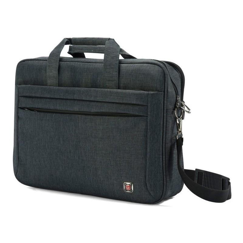 mallette pour pc portable 17 18 benzi bz 4791 noir. Black Bedroom Furniture Sets. Home Design Ideas