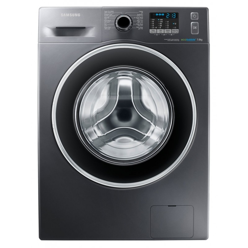 machine laver samsung eco bubble 7 kg inox. Black Bedroom Furniture Sets. Home Design Ideas