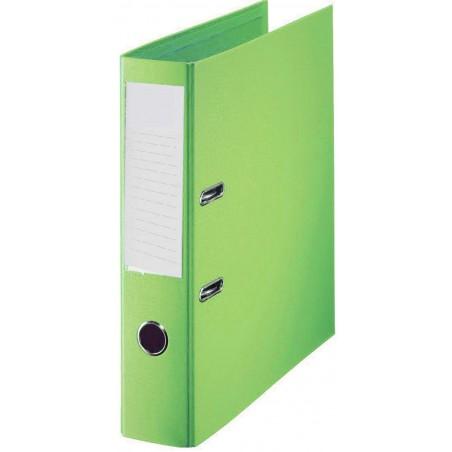 Classeur à levier Plastipap A4 dos de 55mm / Vert clair