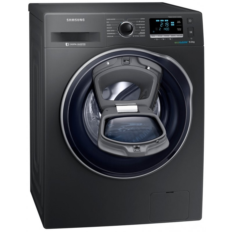 machine laver samsung frontale add wash inox 9kg. Black Bedroom Furniture Sets. Home Design Ideas