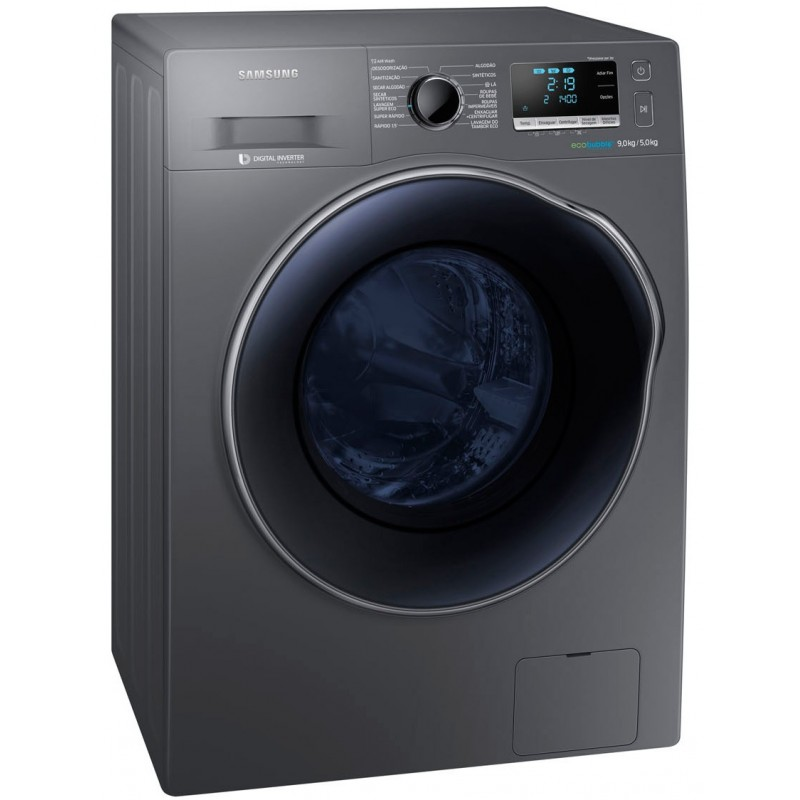 machine laver automatique lavante s chante samsung 10 kg inox. Black Bedroom Furniture Sets. Home Design Ideas