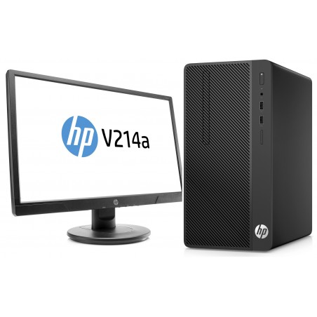 "Pc de bureau HP 290 G1 / Dual Core / 4 Go + Ecran 20.7"" Full HD"