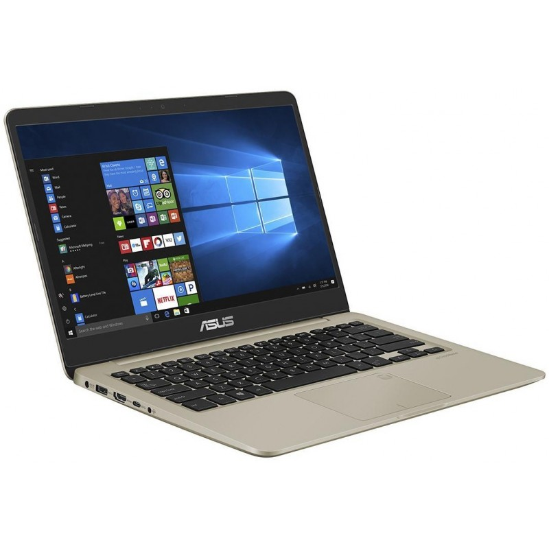 pc portable asus vivobook s14 s410un i7 8 g n 8 go gold. Black Bedroom Furniture Sets. Home Design Ideas