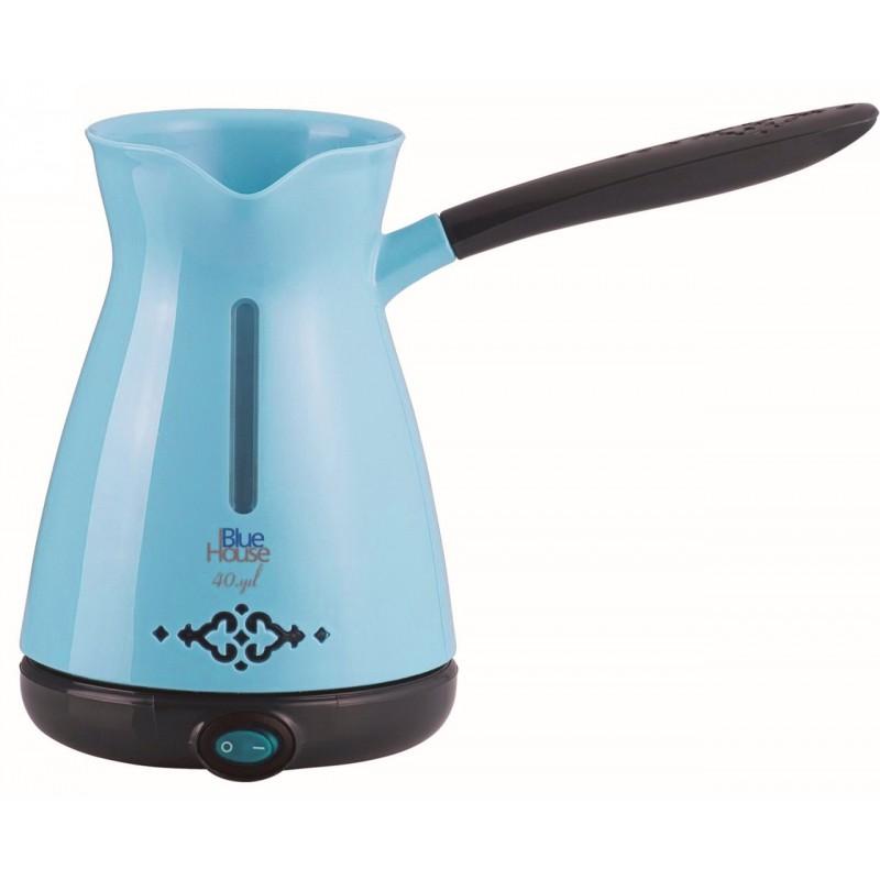 cafeti re turc electrique blue house bh290tc bleu. Black Bedroom Furniture Sets. Home Design Ideas