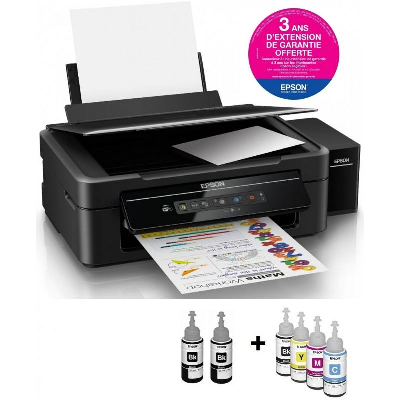 imprimante multifonction couleur 3en1 r servoir int gr epson l386 wifi garantie 3 ans. Black Bedroom Furniture Sets. Home Design Ideas