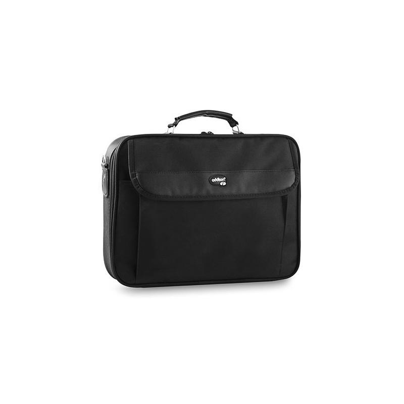 mallette addison pour pc portable 15 4 15 6 noir. Black Bedroom Furniture Sets. Home Design Ideas