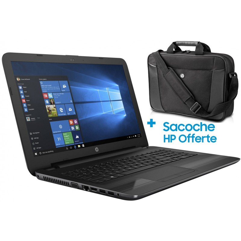 Pc portable HP 250 G4 / i3 4é Gén / 4 Go + Sacoche HP Originale
