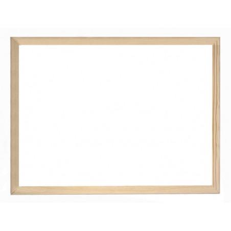 Tableau Blanc magnétique cadre en bois 30 x 40