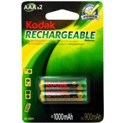2x Piles Rechargeables Kodak AAA