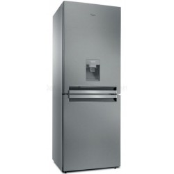 Réfrigérateur WHIRLPOOL AQUA 490L 6éme Sens - Inox