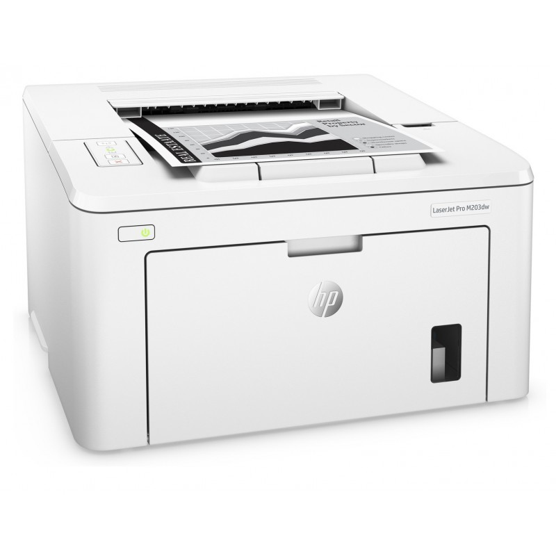 imprimante laser noir et blanc hp laserjet pro m203dw wifi. Black Bedroom Furniture Sets. Home Design Ideas