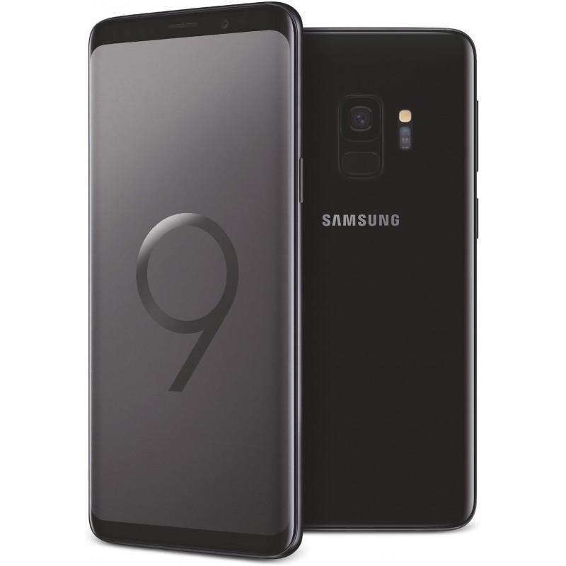 TÉLÉPHONE PORTABLE SAMSUNG GALAXY S9 / NOIR + SIM OFFERTE