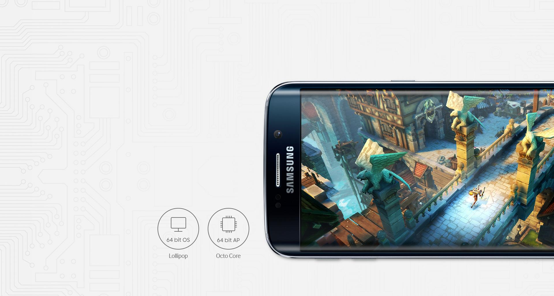 Processeur Galaxy S6 Edge