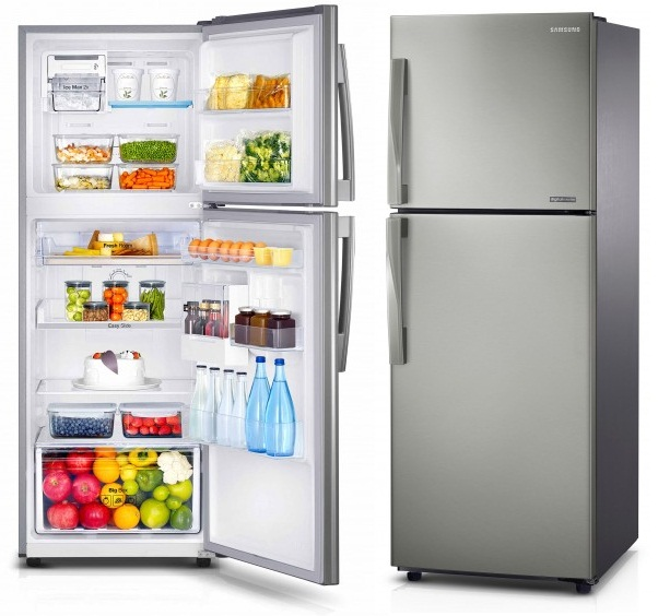 R frig rateur double portes samsung 302l inox - Conservation aliments cuits hors frigo ...