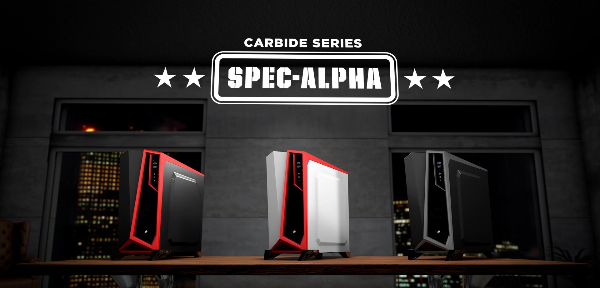 boitier gamer corsair carbide spec alpha. Black Bedroom Furniture Sets. Home Design Ideas
