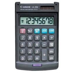 Calculatrice de poche 8 chiffres Canon LS-39E
