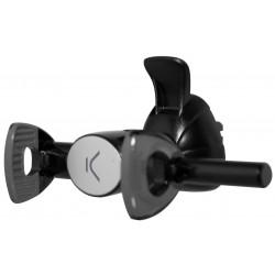 Support voiture Ksix pour Smartphone / Noir
