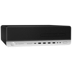 Pc de bureau HP EliteDesk 800 G3 compact / i7 7è Gén / 4 Go