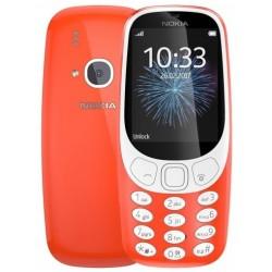 Téléphone Portable Nokia 3310 / Double SIM / Rouge
