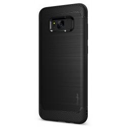 Etui en Silicone Ringke Onyx pour Samsung Galaxy S8 Plus / Noir