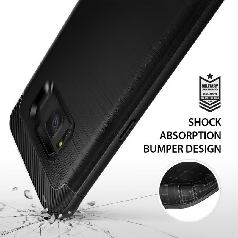 Etui en Silicone Ringke Fusion pour Samsung Galaxy S8 / Rose Gold