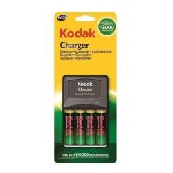 Chargeur Piles Kodak K620 + 4 Piles AA 2100 mAh
