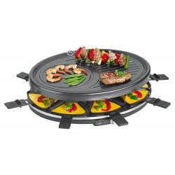 Grille Raclette 8 personnes Clatronic RG3517