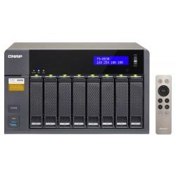 Serveur NAS 8 Baies QNAP TS-853A-4G / 64To